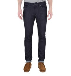 Diesel Washed Dark Blue Thommer Slim Fit Jeans