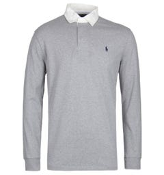 Polo Ralph Lauren Grey Rugby Shirt