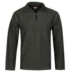 Armor Lux Cotton Twill Sage Green Smok