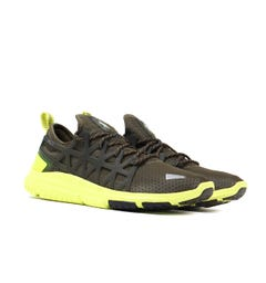 Polo Ralph Lauren TRAIN200 Olive & Yellow Trainers
