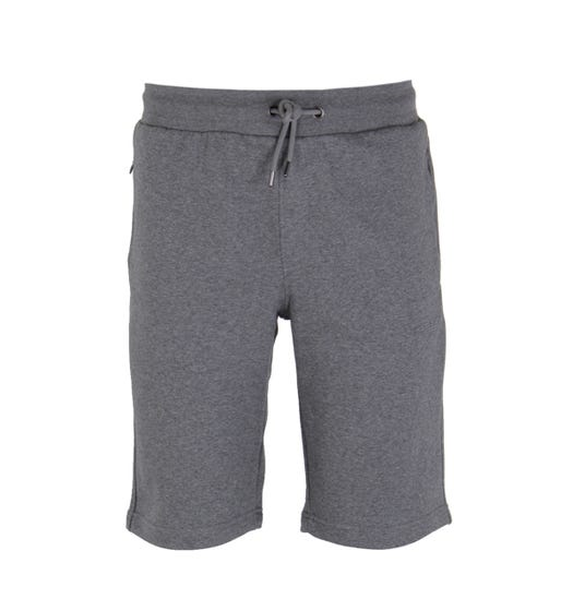 Emporio Armani Mid Grey Marl Cotton Blend Sweat Shorts