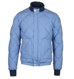 Peak Performance x Nigel Cabourn Blue Short Down Jacket