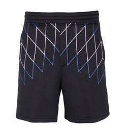 Blackbarrett Football Net Dropcrotch Black Sweat Short