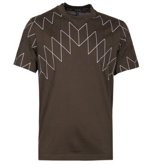 Blackbarrett Football Net Khaki T-Shirt