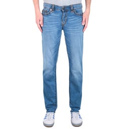 True Religion Geno No Flap Indigo Frost Relaxed Slim Jeans