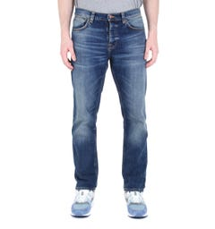 Nudie Jeans Co Steady Eddie 2 Indigo Denim Jeans
