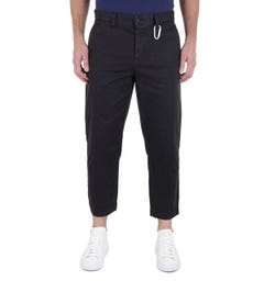 BOSS Salt Black Cropped Trousers