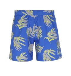 BOSS Bodywear Goldfish Floral Pattern Blue Swim Shorts