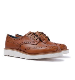 Tricker's Bourton Tan Brogue Country Shoes