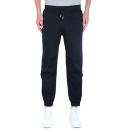Armani Exchange Cuffed Navy Trousers