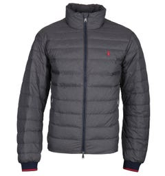 Polo Ralph Lauren Packable Down Padded Grey Jacket