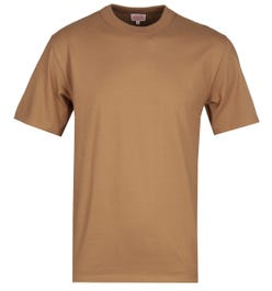 Armor Lux Basic Tan Crew Neck T-Shirt