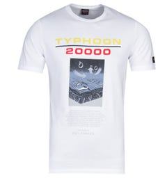 Paul & Shark Typhoon Logo White T-Shirt