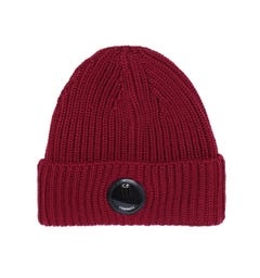 CP Company Watch View Oxblood Beanie