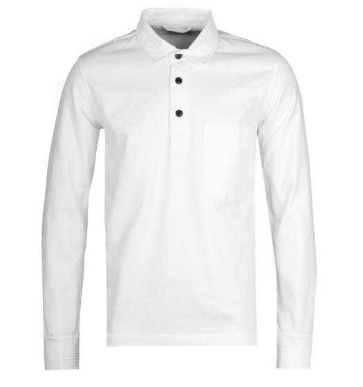 Albam White Rugby Shirt