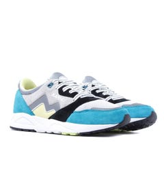 Karhu Aria Lake Blue & Lemonade Suede Trainers