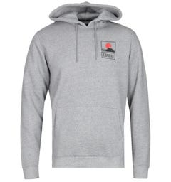 Edwin Sunset On Fuji Grey Marl Hoodie