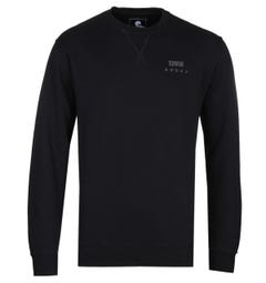 Edwin Base True Black Crew Neck Sweatshirt