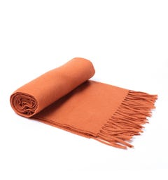 Samsoe & Samsoe Orange Efin Scarf