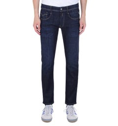 Replay Anbass Slim Fit Dark Blue Denim Jeans