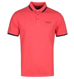 Barbour International Pinion Pigment Red Polo Shirt
