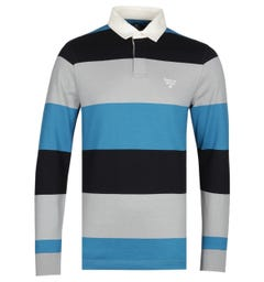 Barbour Beacon Striped Rugby Shirt