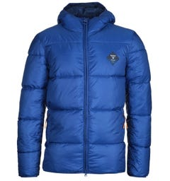 Barbour Beacon Ross Hooded Quilted Electric Blue Jacket