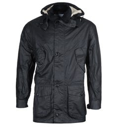 Barbour Endurance White Label - Made For Japan Midnight Navy Wax Jacket
