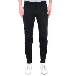 CP Company Biker Ergonomic Black Trousers
