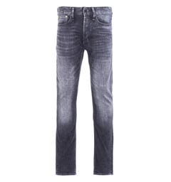 Denham Razor Left Hand Denim Washed Black Slim Fit Jeans