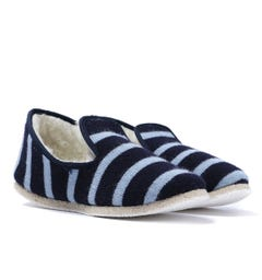 Armor Lux Navy Stripe Slippers