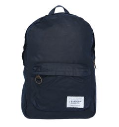 Barbour Eaden Navy Waxed Backpack