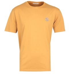 Nudie Jeans Co Cicle Logo Amber T-Shirt