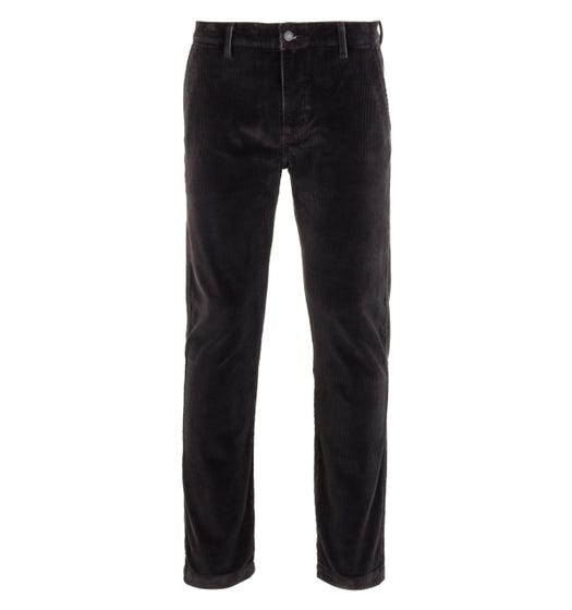 Levi's XX Chino Corduroy Tapered Black Trousers