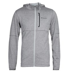 Columbia Tech Trail Hooded Sweatshirt - Heather Grey
