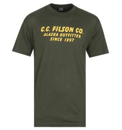 Filson Lightweight Graphic Outfitter Vine Green T-Shirt