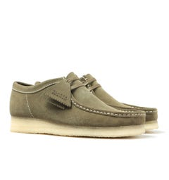 Clarks Orginals Wallabee Forest Green Shoes