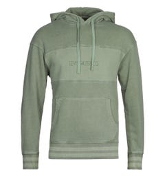 Levi's Relaxed Fit Novelty Hedge Green Hooded Sweatshirt