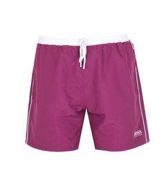 BOSS Bodywear Starfish Merlot Burgundy Swim Shorts