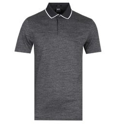 Boss Pitton Slim Fit Charcoal Polo Shirt