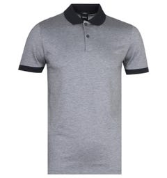 BOSS Slim Fit Phillipson Black Polo Shirt