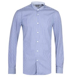 BOSS Jorrice Blue Striped Shirt