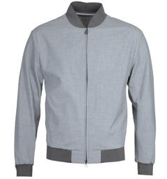 BOSS Nolwin Bomber Grey Jacket