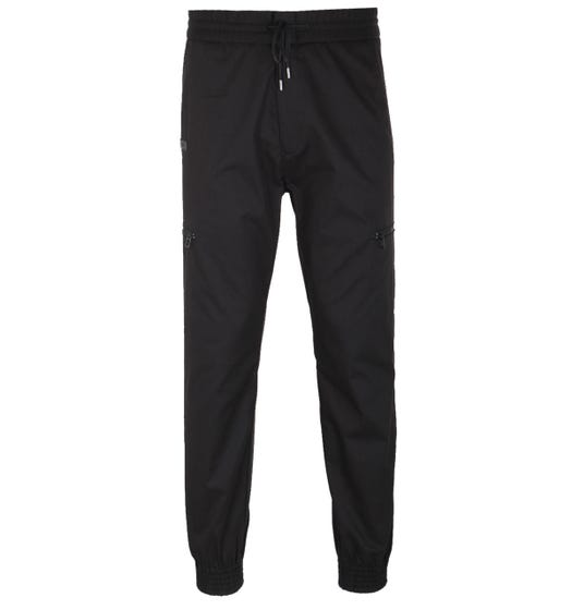 HUGO Feril Black Cotton Trousers