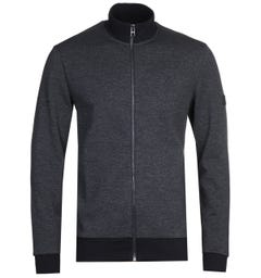 BOSS Shepherd Zip Through Navy Hoodie