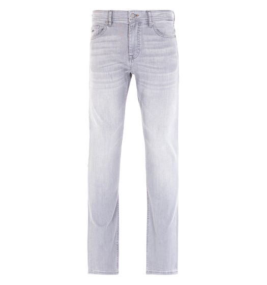 BOSS Delaware Washed Grey Slim Fit Jeans