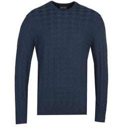 Emporio Armani Navy Sweater