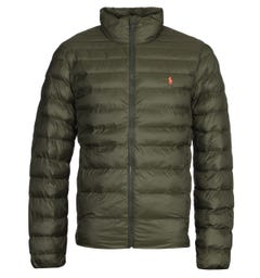Polo Ralph Lauren Packable Quilted Green Jacket