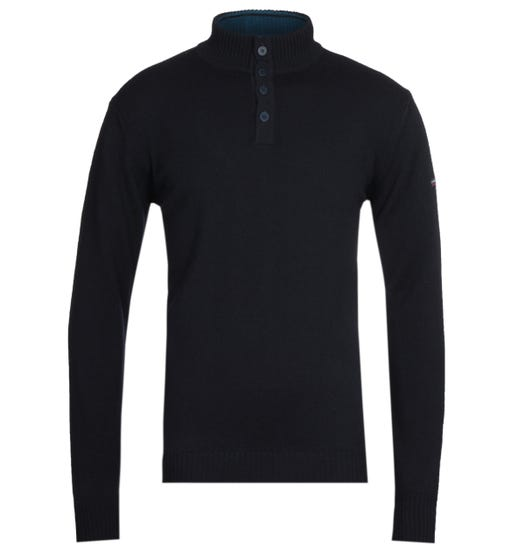 Armor Lux Pull Camionneur Navy Sweater