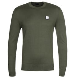 Diesel K-Freex B Khaki Long Sleeve T-Shirt